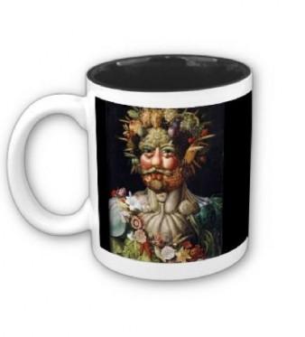 Arcimboldo mug